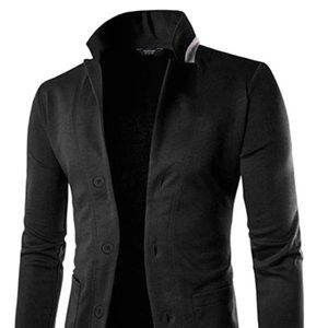 Other - Men's Lightweight Cotton 3 Button Casual Suit